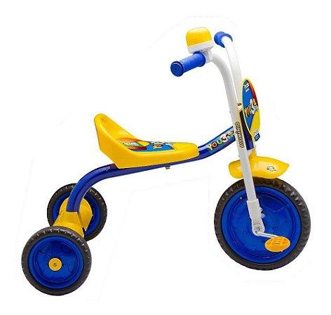 Triciclo You 3 Boy Girl Infantil Velotrol Motoca em Aluminio Nathor Menino Menina