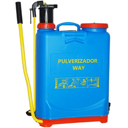 Pulverizador Manual 20 Litros Bomba Costal Tanque Importway IWPM20-020