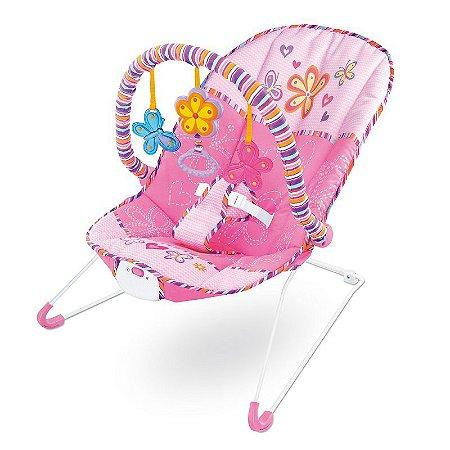 Cadeira de Descanso Vibratória para Bebê Musical com Vibração e Som Importway BW093