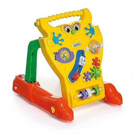 Andador Feliz Brinquedo Educativo Infantil Bebê Calesita