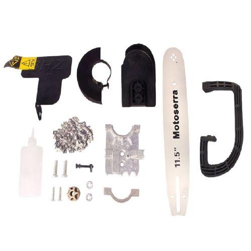 Adaptador de Serra Elétrica Motosserra Kit para Esmerilhadeira e Lixadeira Importway IWKSE001