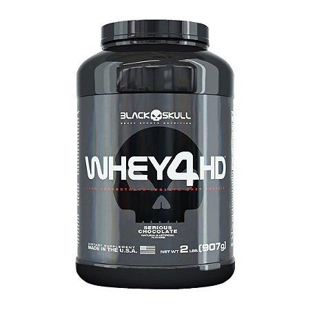 Whey 4HD - 2lbs (907g) - Black Skull
