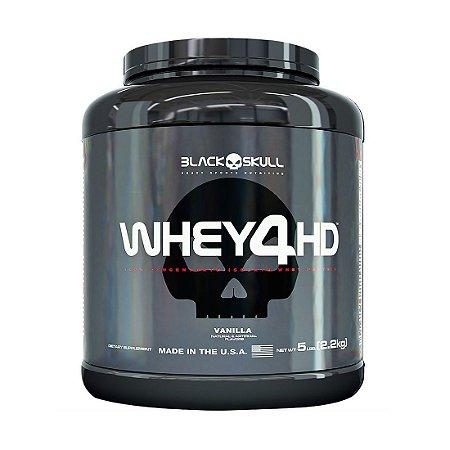 Whey 4HD (2.2kg) - Black Skull