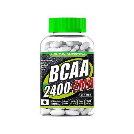 BCAA 2400 ZMA (120CAPS) LAUTON NUTRITION