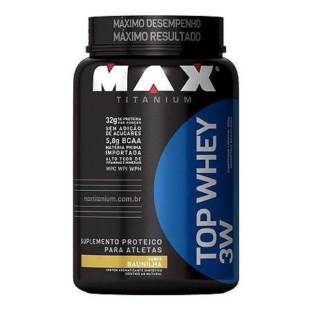 TOP WHEY 3W MAX TITANIUM (900G)
