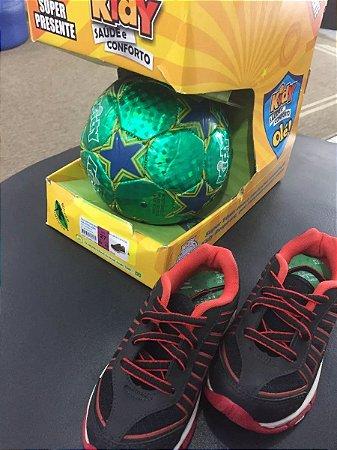 Tênis Kidy Mais Brasil Com Bola