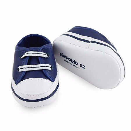 Tênis Pimpolho Bebê - Menino Azul