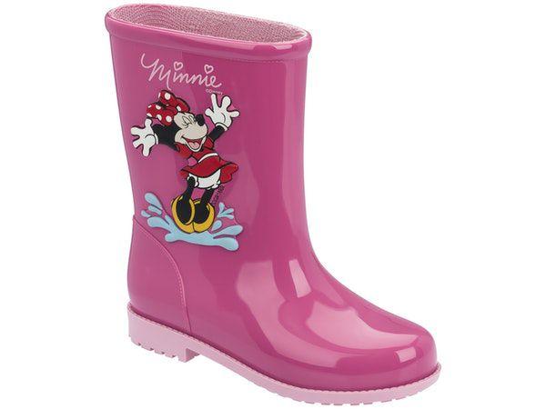 Galocha Disney Fashion Minnie Rosa