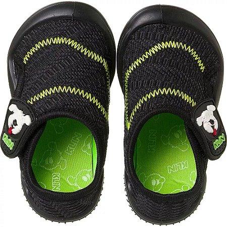 Tênis Klin New Confort Preto/verde