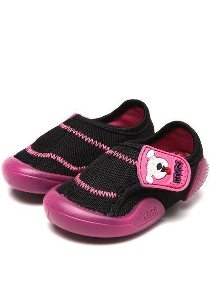 Tênis Klin New Confort Preto/ Pink
