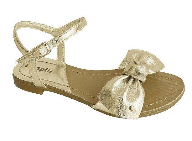 Sandália Pampili Liza Dourada