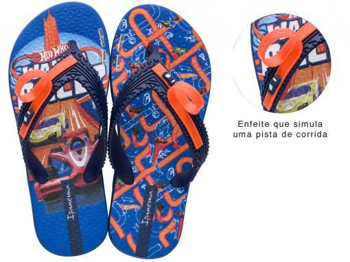 Chinelo Ipanema Hot Wheels Tyre