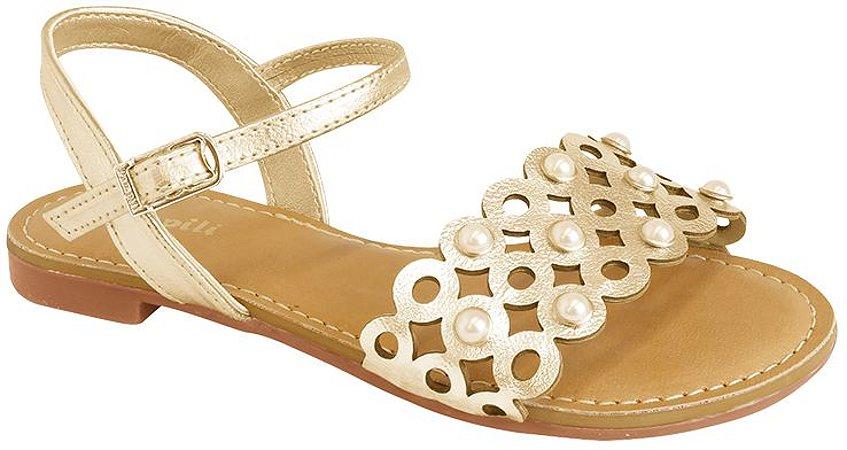 Sandália Pampili Belle Dourada