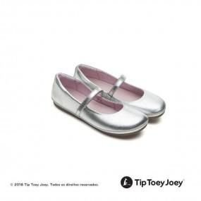 Sapatilha Tip Toey Joey Little Twirl Sterling Silver
