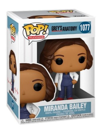 Funko Pop Television: Grey's Anatomy - Miranda Bailey #1077