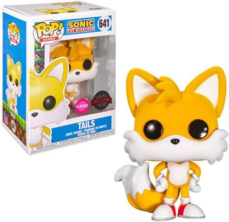 Funko POP! Games: Sonic The Hedgehog - Tails #641 (Focked)