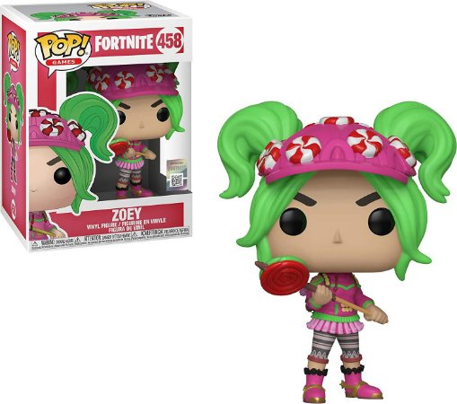 Funko Pop! Games: Fortnite - Zoey #458