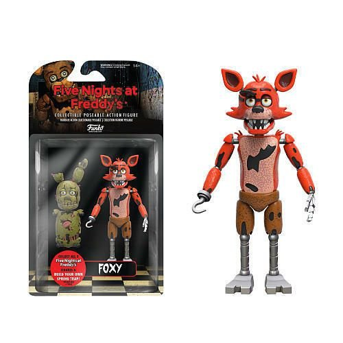Action Figure: Five Night's At Freddy - Foxy