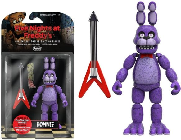 Action Figure: Five Night's At Freddy - Bonnie