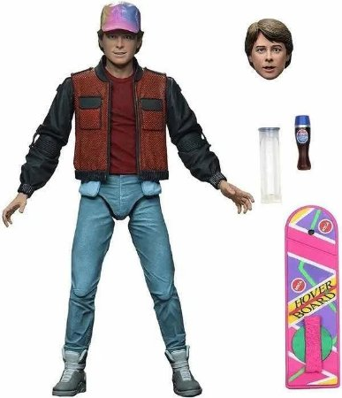Action Figure: Back To The Future - Marty McFly NECA