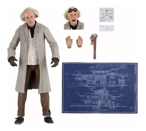 Action Figure: Back To The Future - Doc Brown NECA
