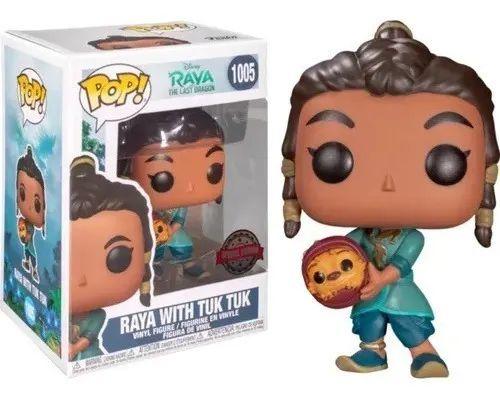 Funko POP!: Raya The Last Dragon - Raya With Tuk Tuk #1005
