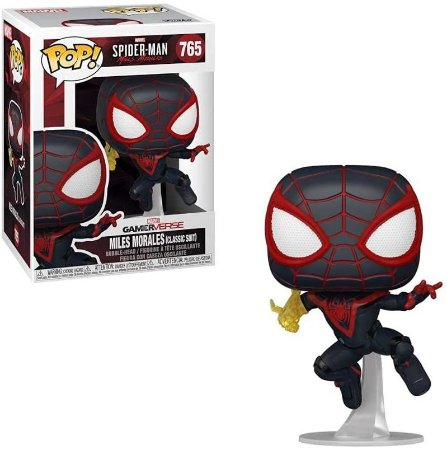 Funko POP!: Spider-Man - Miles Morales (Classic Suit) #765