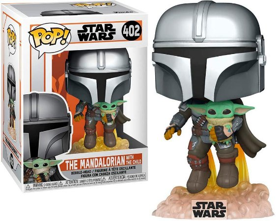 Funko Pop: Star Wars - The Mandalorian With The Child #402