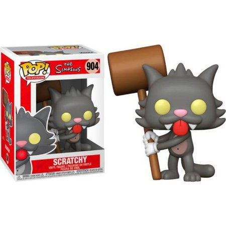 Funko Pop Television: The Simpsons - Scratchy #904
