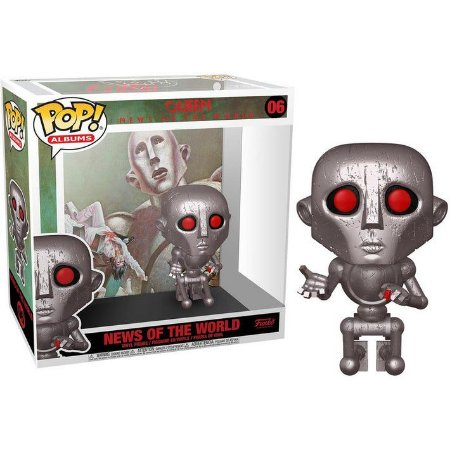 Funko Pop Albums: Queen - News Of The World #06