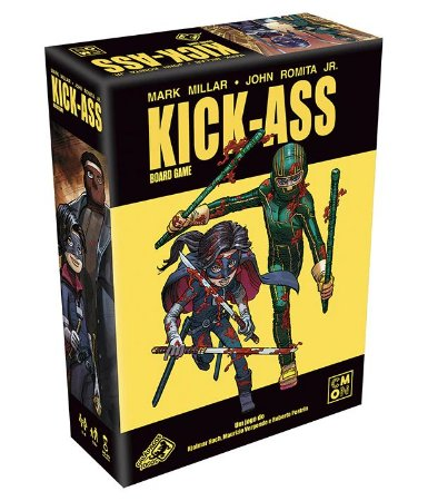 Board Game: Kick-ass - Galápagos Jogos