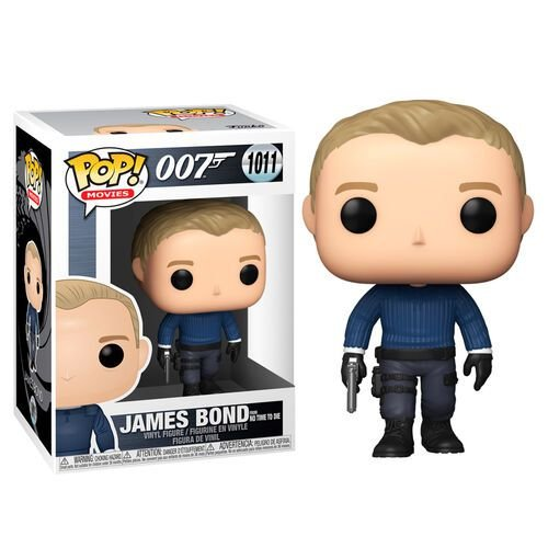 Funko Pop Movies: 007 - James Bond From No Time To Die #1011