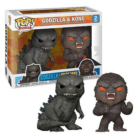 Funko Pop Movies: Godzilla Vs. Kong 2Pack