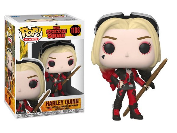 Funko Pop Movies: The Suicide Squad - Harley Quinn #1108