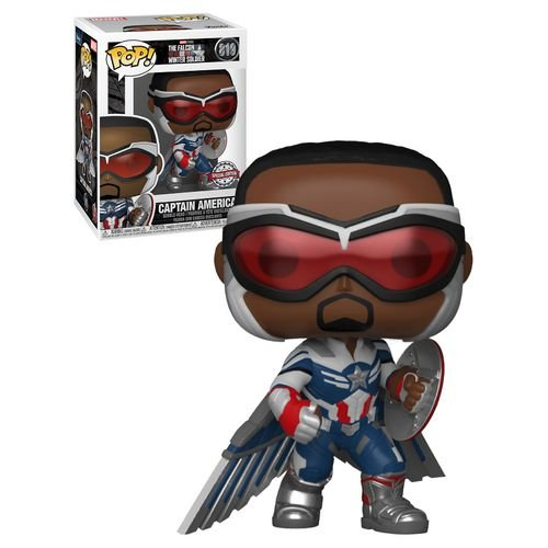 Funko Pop: The Falcon And The Winter Soldier - Captain America #819 (Special Edition)