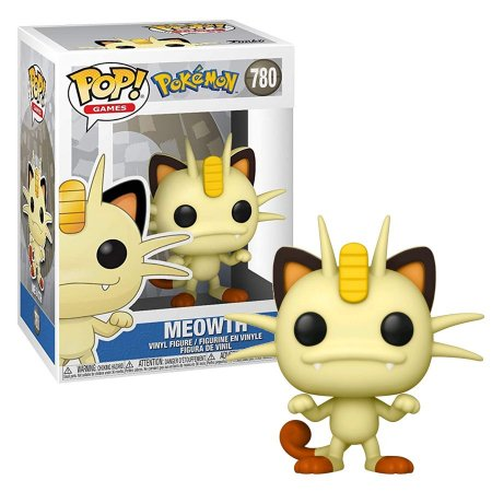 Funko Pop Games: Pokémon - Meowth #780
