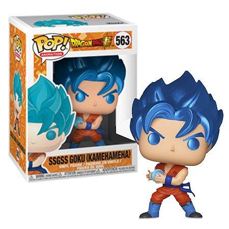 Funko Pop Animation: Dragon Ball Z - Ssgss Goku (Kamehameha) #563 (Special Edition)