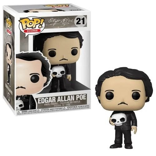 Funko Pop Icons: Edgar Allan Poe #21