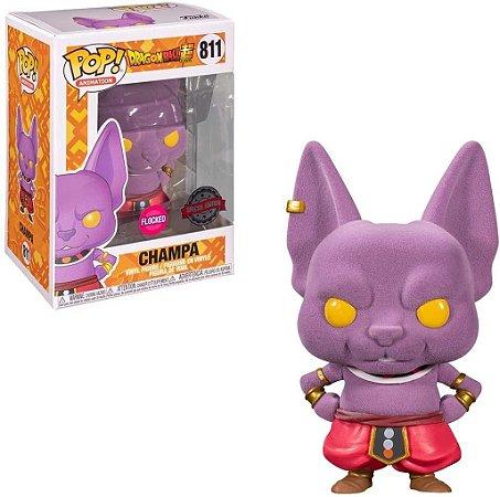 Funko POP! Animation: Dragon Ball Super - Champa #811 (Flocked)