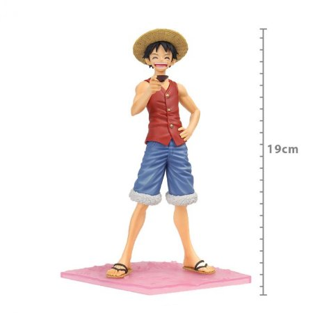 Action Figure: ONE PIECE - MONKEY D. LUFFY - SPECIAL EPISODE ''LUFF''
