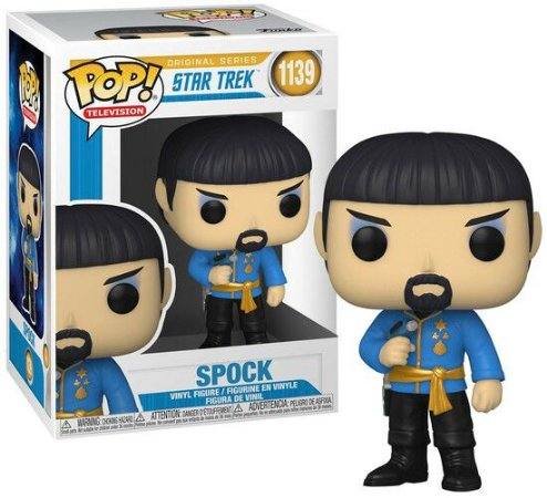Funko POP! Television: Star Trek - Spock #1139