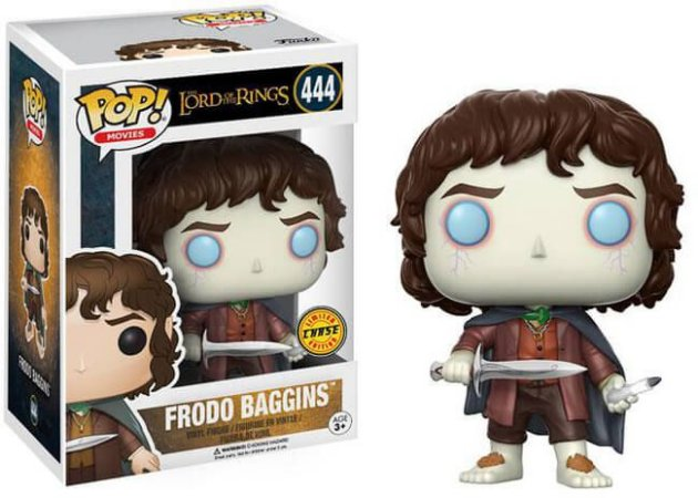 Funko Pop Movies: The Lord Of The Rings - Frodo Baggins #444 (Glow Chase)