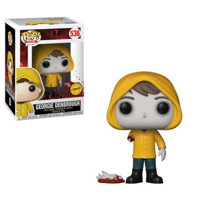 Funko Pop It Movie Georgie Denbrough ( no arm )  Chase Exclusivo  #536   Penniwyse