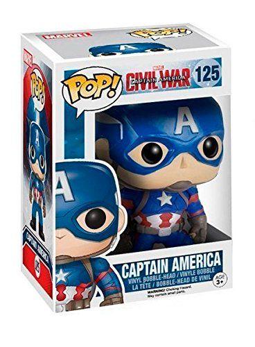 Funko Pop Marvel: Captain America 3: Civil War #125
