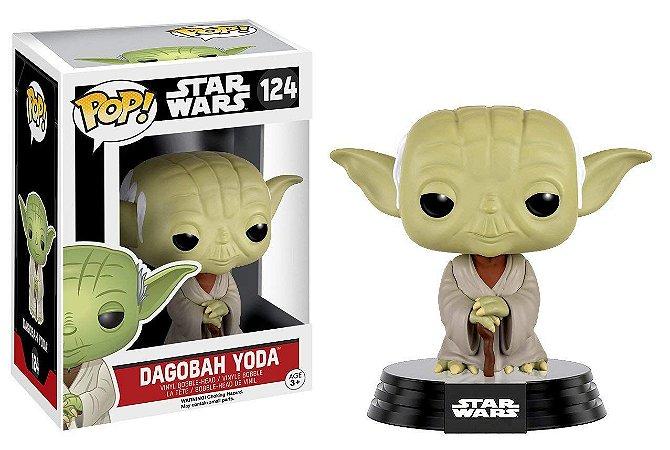 Funko Pop Star Wars: Dagobah Yoda #124