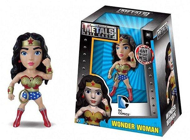 Boneco Wonder Woman (Mulher Maravilha) M363 - DC - Metals Die Cast