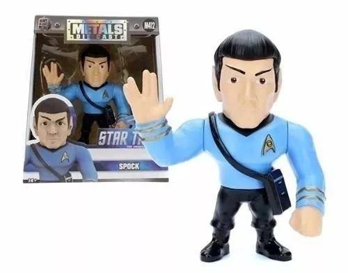 Boneco Spock M412 - Star Trek - Metals Die Cast