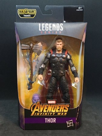 Thor  Marvel Legends Series | Avengers Infinity War - Best of 2019 - Baf Monte o Thanos