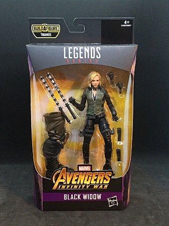 Black Widow Marvel Legends Series | Avengers Infinity War - Best of 2019 - Baf Monte o Thanos