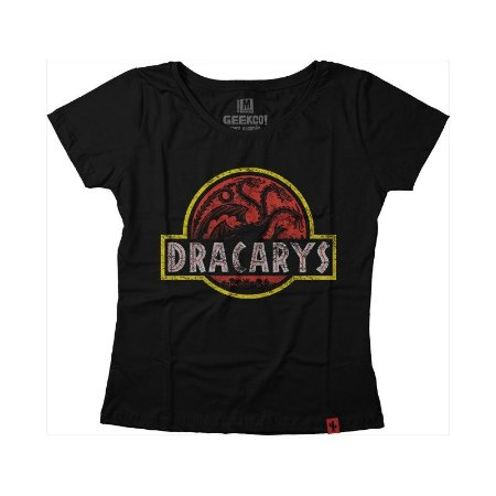 Camiseta Feminina Dracarys Park
